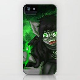 Homestuck: Grimbark Jade iPhone Case