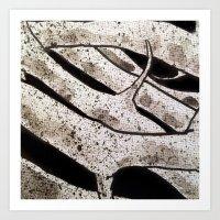 Thorns in Detail Art Print