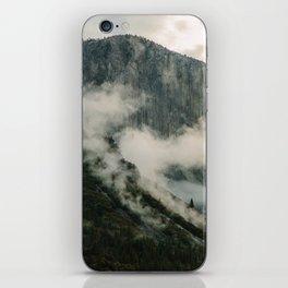 Yosemite fog iPhone Skin