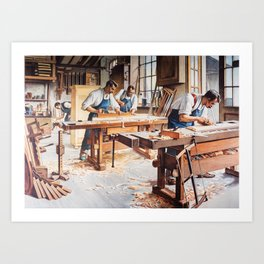 Carpenters Art Print