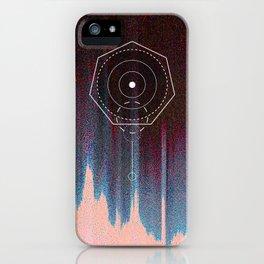 Screw Geometry glitch iPhone Case
