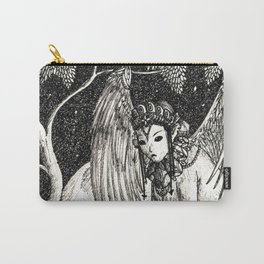 Oedipus and the sphinx Carry-All Pouch