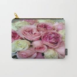 Gorgeous light pink and mauve wedding bouquet Carry-All Pouch