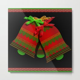 Christmas Bells Metal Print