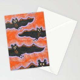 Batty Flight Stationery Cards