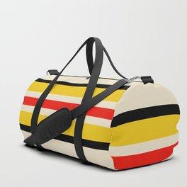 Classic Retro Stripes Amemasu Duffle Bag