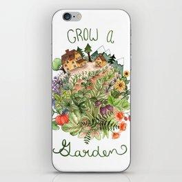 Grow A Garden iPhone Skin