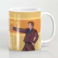 starlord Mugs featuring Dance Off Bro by Lydia Butz