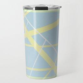 Crossroads ll - color hexagon Travel Mug