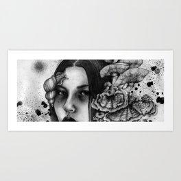 Mycelia Art Print
