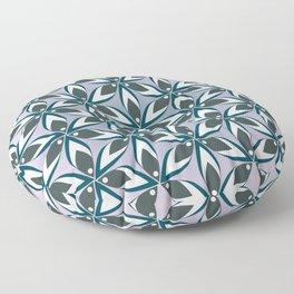 Petals, circles and...flowers Floor Pillow