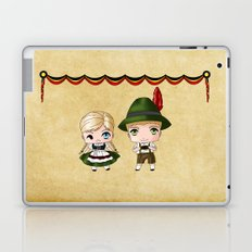 German Chibis Laptop & iPad Skin