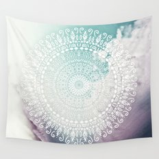RAINBOW CHIC MANDALA Wall Tapestry