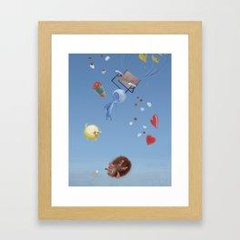 Burst Framed Art Print