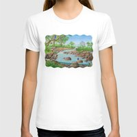 river T-shirts featuring  river  by Amy Fan