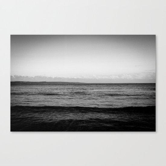 Unforgiving Sea Canvas Print