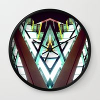 architect Wall Clocks featuring Architect  by Rob Hayes