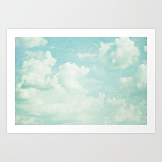 dreaming the day away Art Print