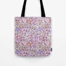Scattered Floral Tote Bag