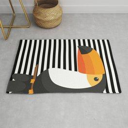 TOUCAN tropical toucans Rug