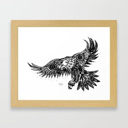 Legal Eagle Framed Art Print