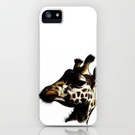 giraffa 01 iPhone Case