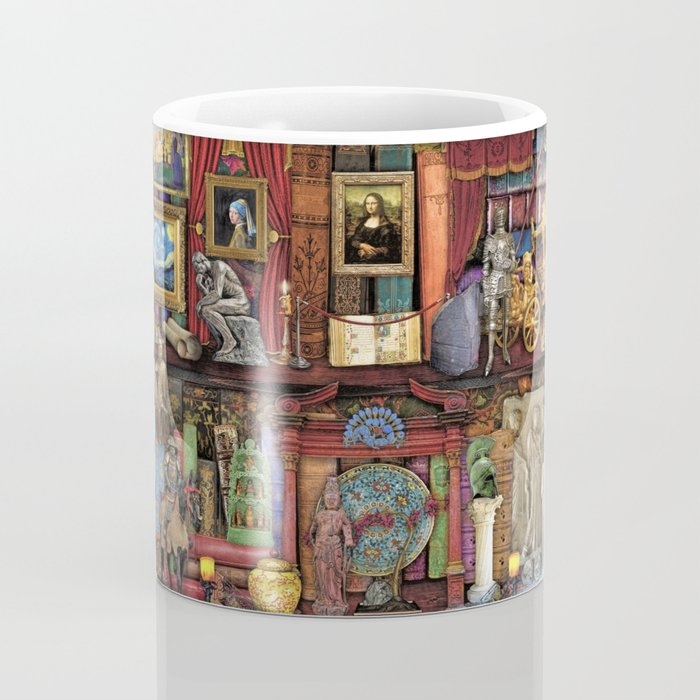 The Museum Shelf Coffee Mug