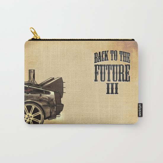 Back to the future III Carry-All Pouch