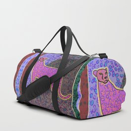 Animal Print Yearning Lost Habitat Duffle Bag