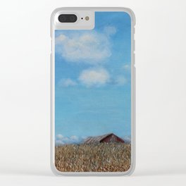 Over the Rise Clear iPhone Case