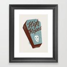 High Hopes Framed Art Print