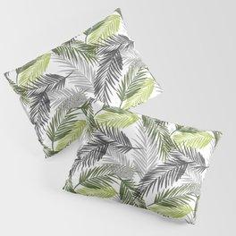 Palm tree leaf Pillow Sham