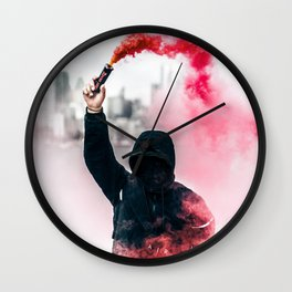 Protest Wall Clock