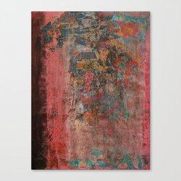 Elegante Signora in un Giorno Piovoso Canvas Print