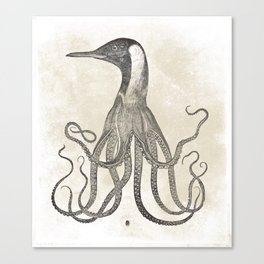 The Octo-Loon Canvas Print