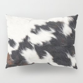 Brown Cowhide Pillow Sham