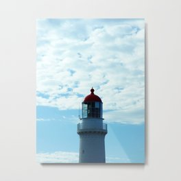 Top of the Lighthouse Metal Print