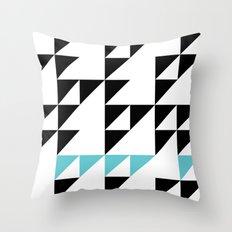 Tri Pixel Throw Pillow