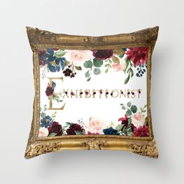 Exhibitionist Throw Pillow