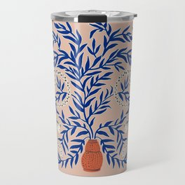 Leopard Vase Travel Mug