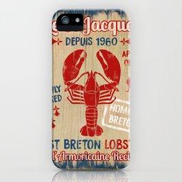 Le St-Jacques Lobster Shack iPhone Case