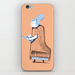 Lady in G Major iPhone Skin