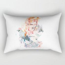 I can't speak your language Rectangular Pillow