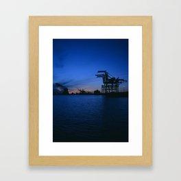 Jack London Square Framed Art Print