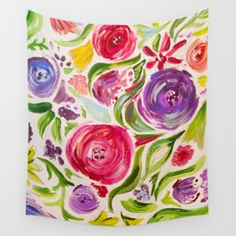 floral 1 Wall Tapestry