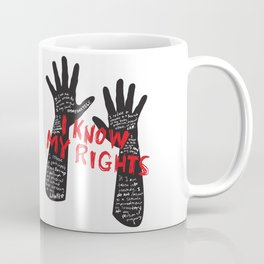 Know your rights Coffee Mug