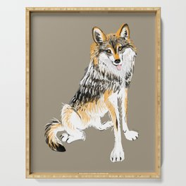 Mexican Wolf #1 Serving Tray