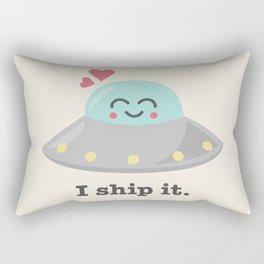 i ship it. Rectangular Pillow