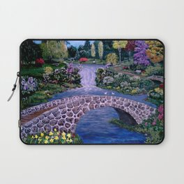 My Garden - by Ave Hurley Laptop Sleeve