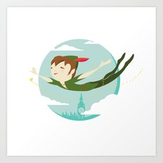Storybook Pan Art Print